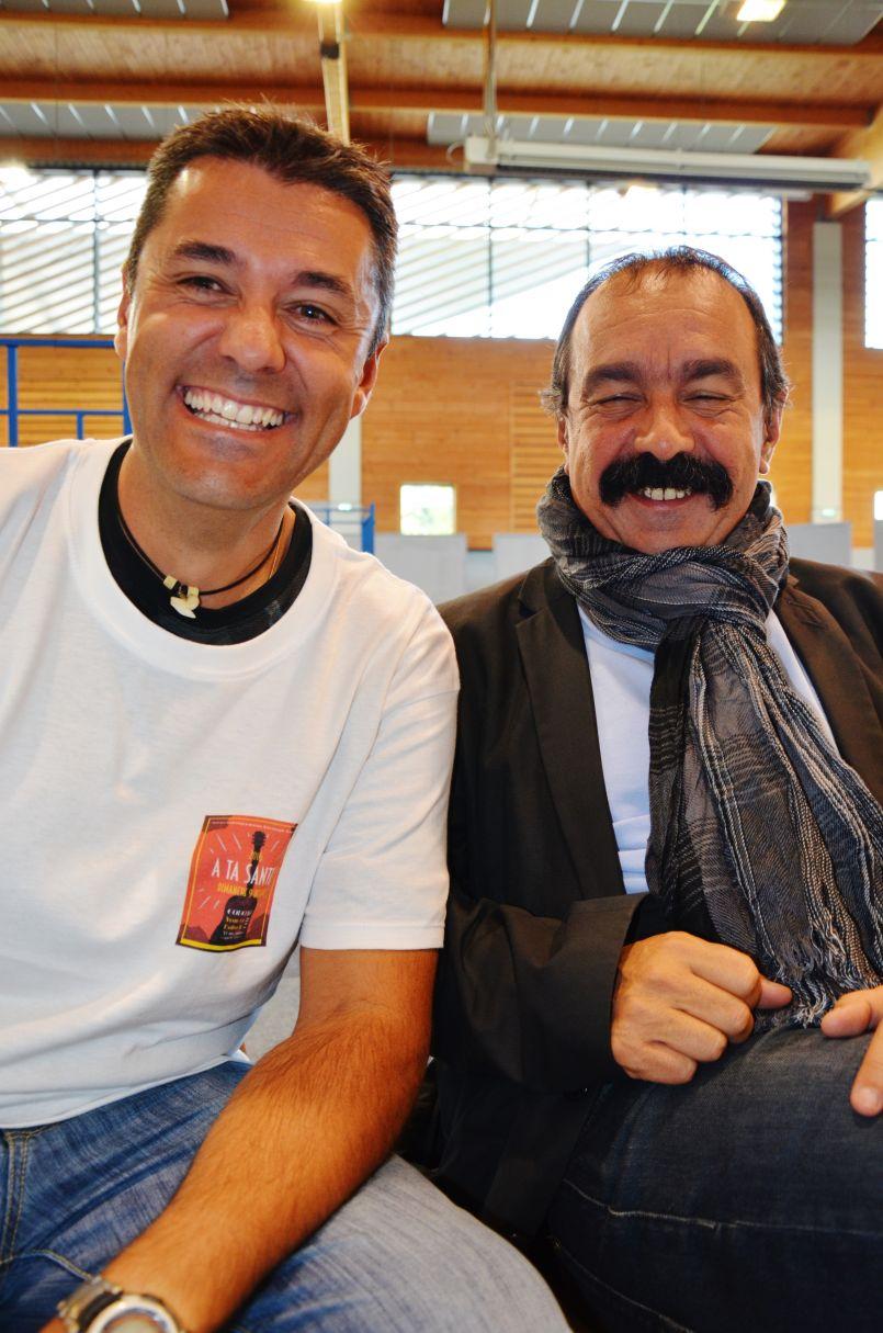 Journée de la CGT 40  'A ta santé !' en présence de Philippe Martinez, secrétaire général