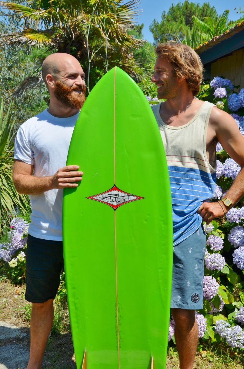 Ils ont surfé la bonne idée. Trophées du surf pour Cyril Blanckaert et Remy Gendre