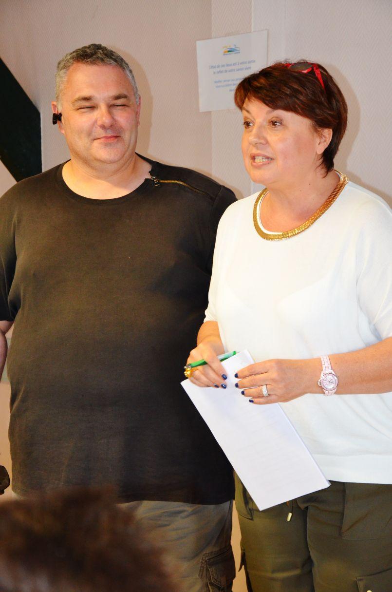 Margaux, ex-chanteuse des années 90, a séduit à Biscarrosse l'assistance de Libre'Vie