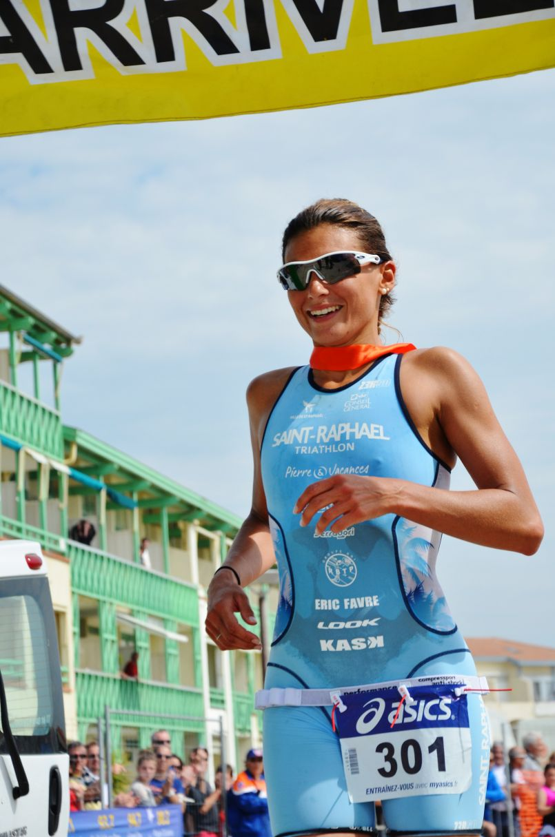 Anne Tabarant et Toumy Degham reine et roi du 29ème Triathlon International de Mimizan