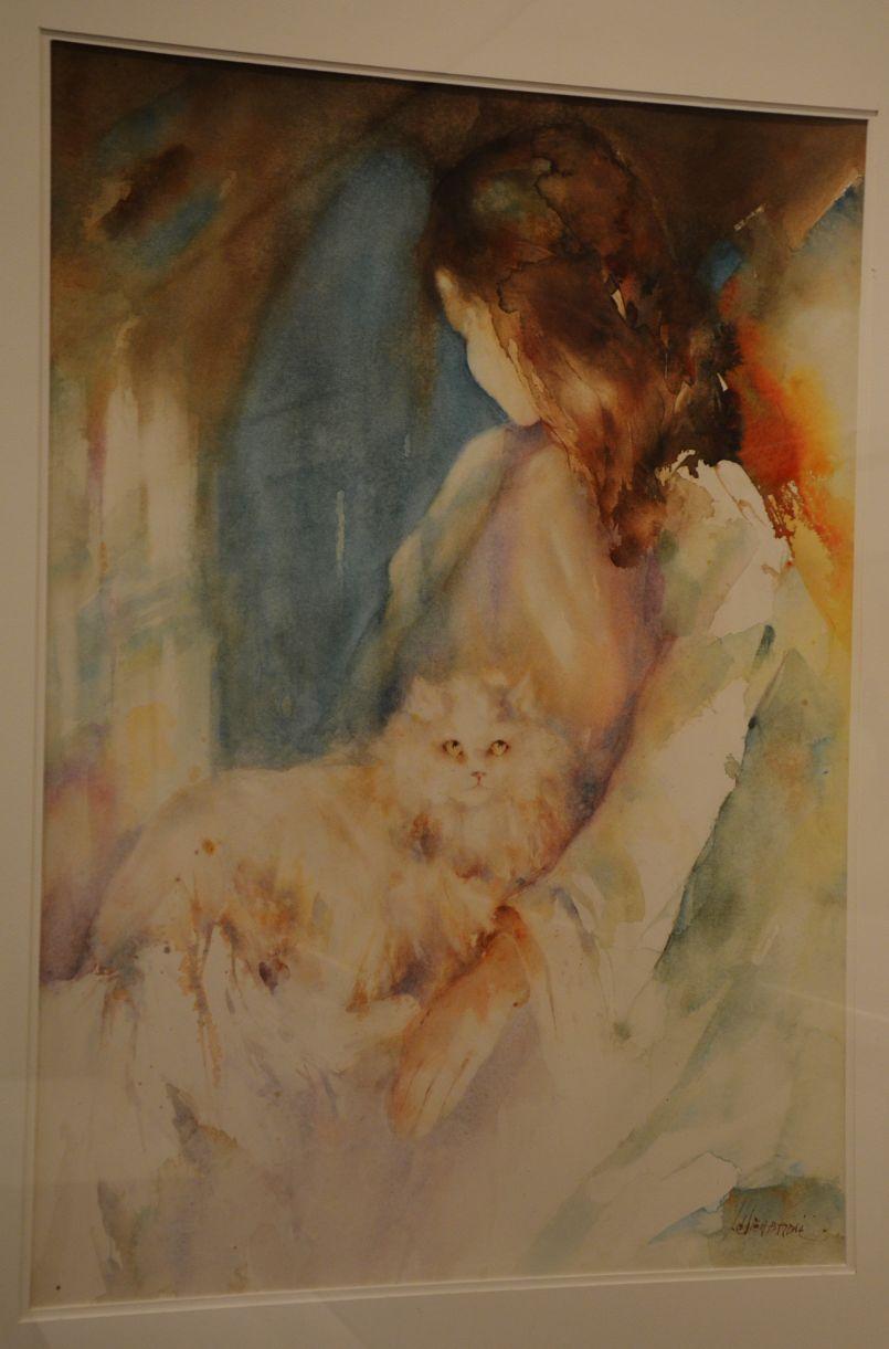 Interview exceptionnelle de l'artiste peintre biscarrossaise, la renommée Lélie Abadie