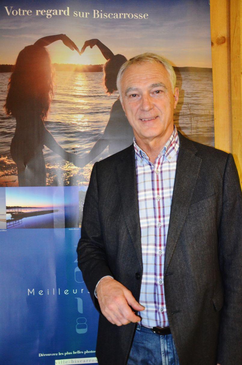 Alain Dudon :demie lune de la Plage et densification de l'hyper centre bourg à Biscarrosse
