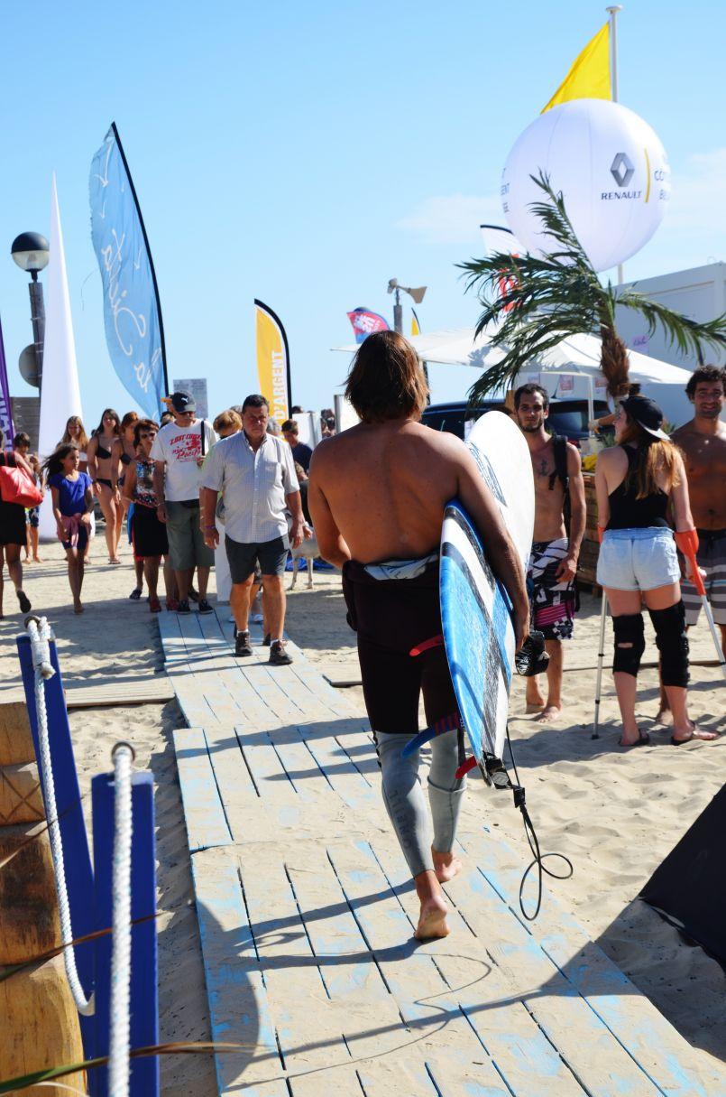 C'est l'été sur le sable et avant la reprise de certains championnats...
