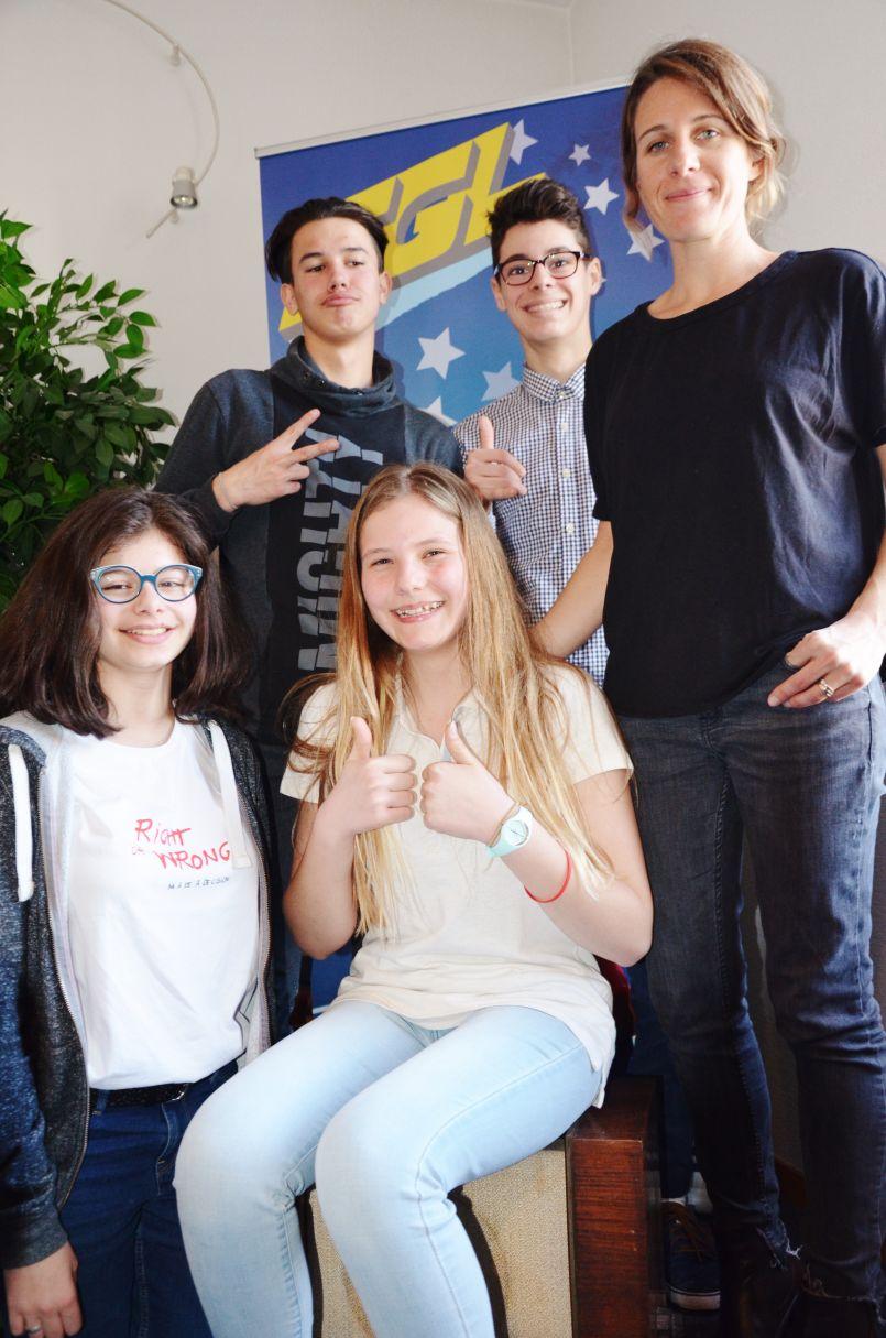 Le Kirange, le nouveau produit des élèves de l'option 'Mini entreprise' du collège Mermoz