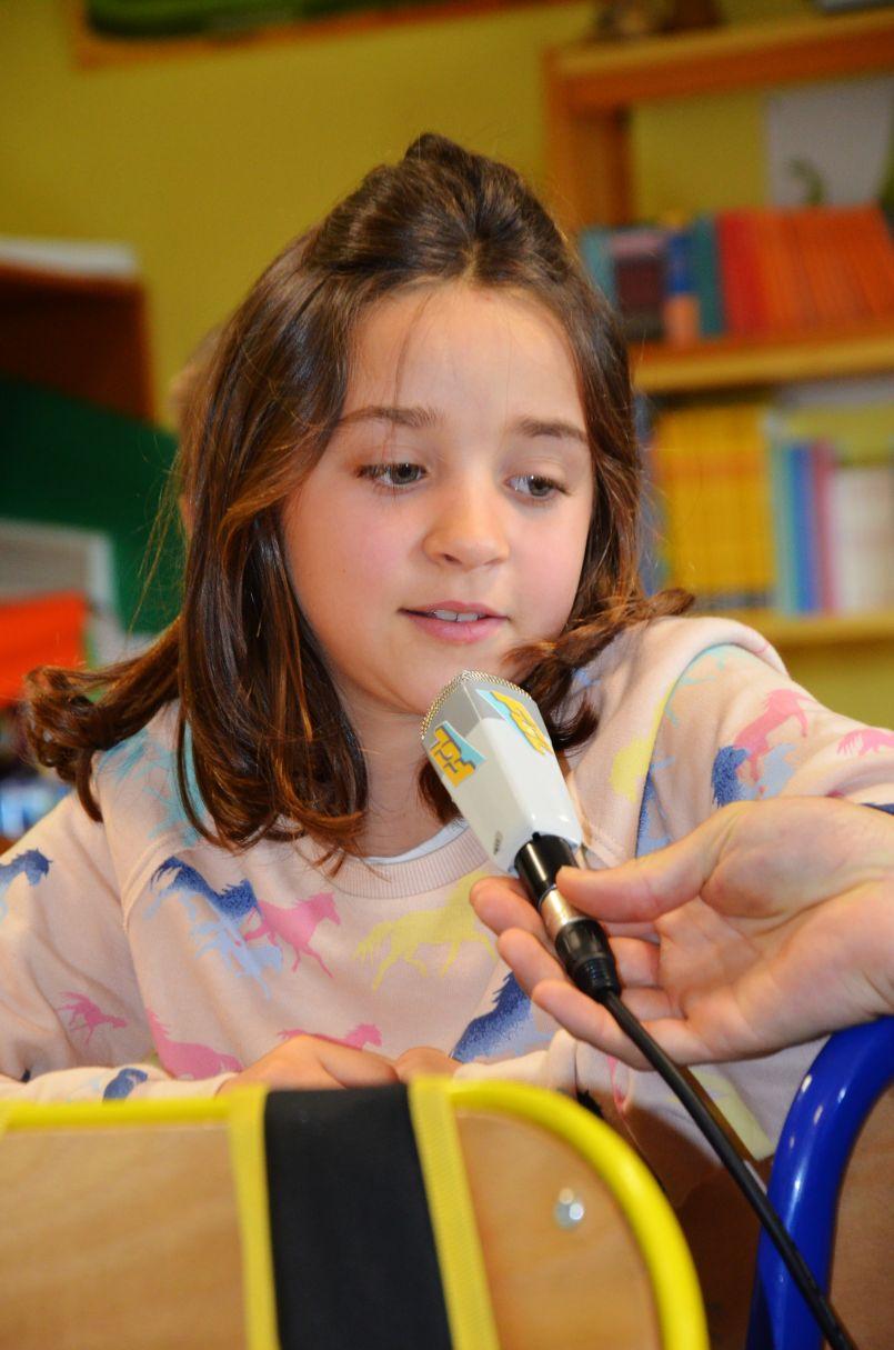 Les journalistes d'FGL ont rencontré les élèves de l'école primaire de Pissos (40)