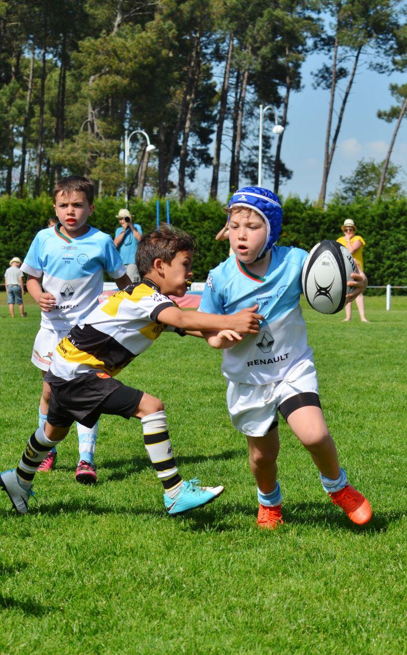 Salles, Le Racing et La Rochelle remportent l'édition 2018 du Tournoi des jeunes rugbymen