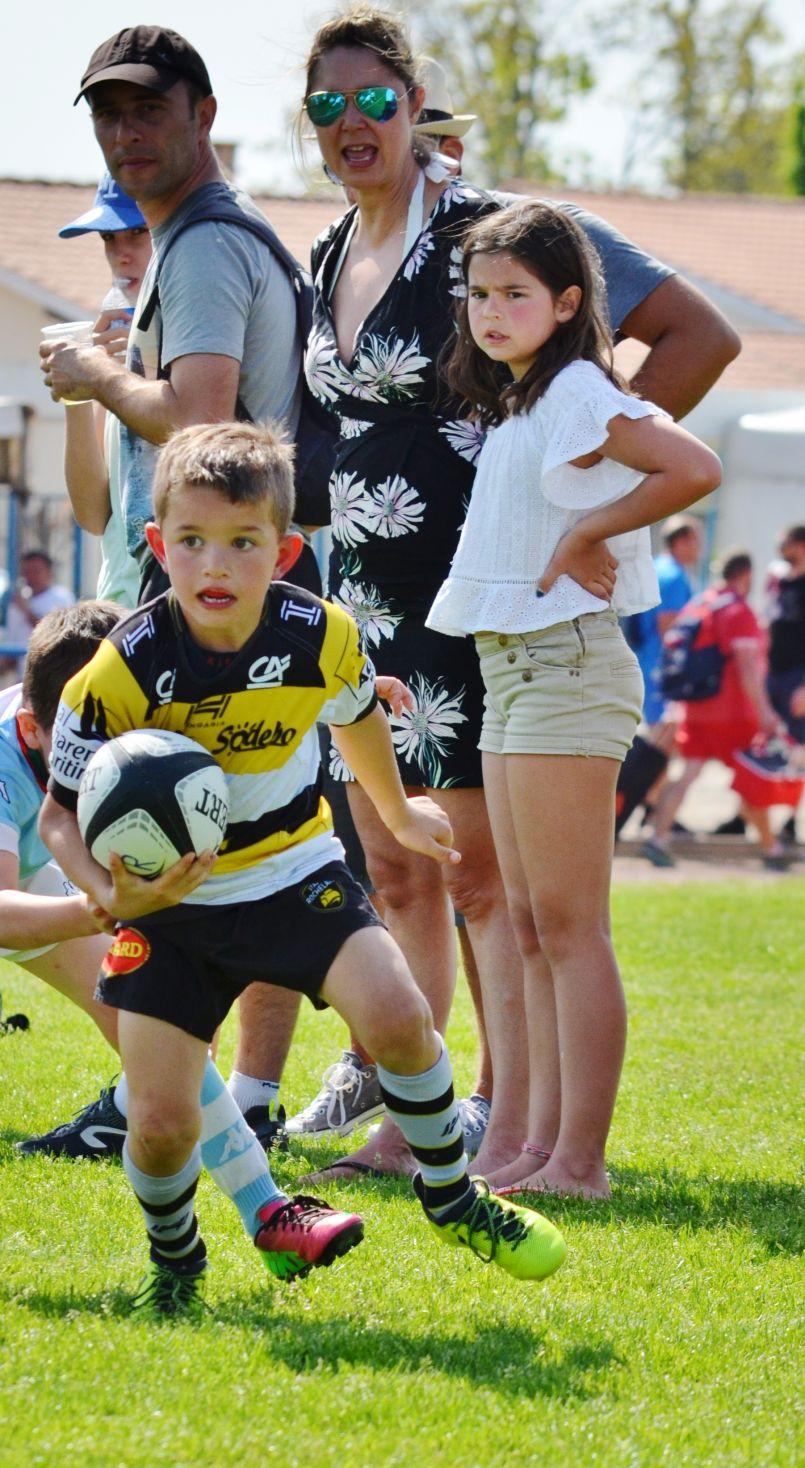 De la graine de grands, 27ème Tournoi des jeunes rugbymen sous le soleil à Biscarrosse