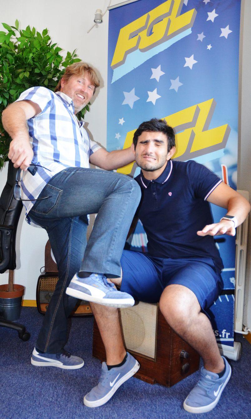 Les pieds carrés d'FGL dévoilés pour parler de la Coupe du Monde de football en Russie