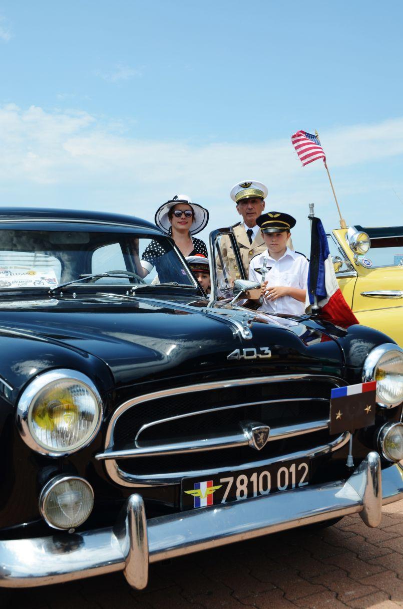 Intempéries sur les Landes et le Bassin d'Arcachon, concours d'élégance auto à Biscarrosse
