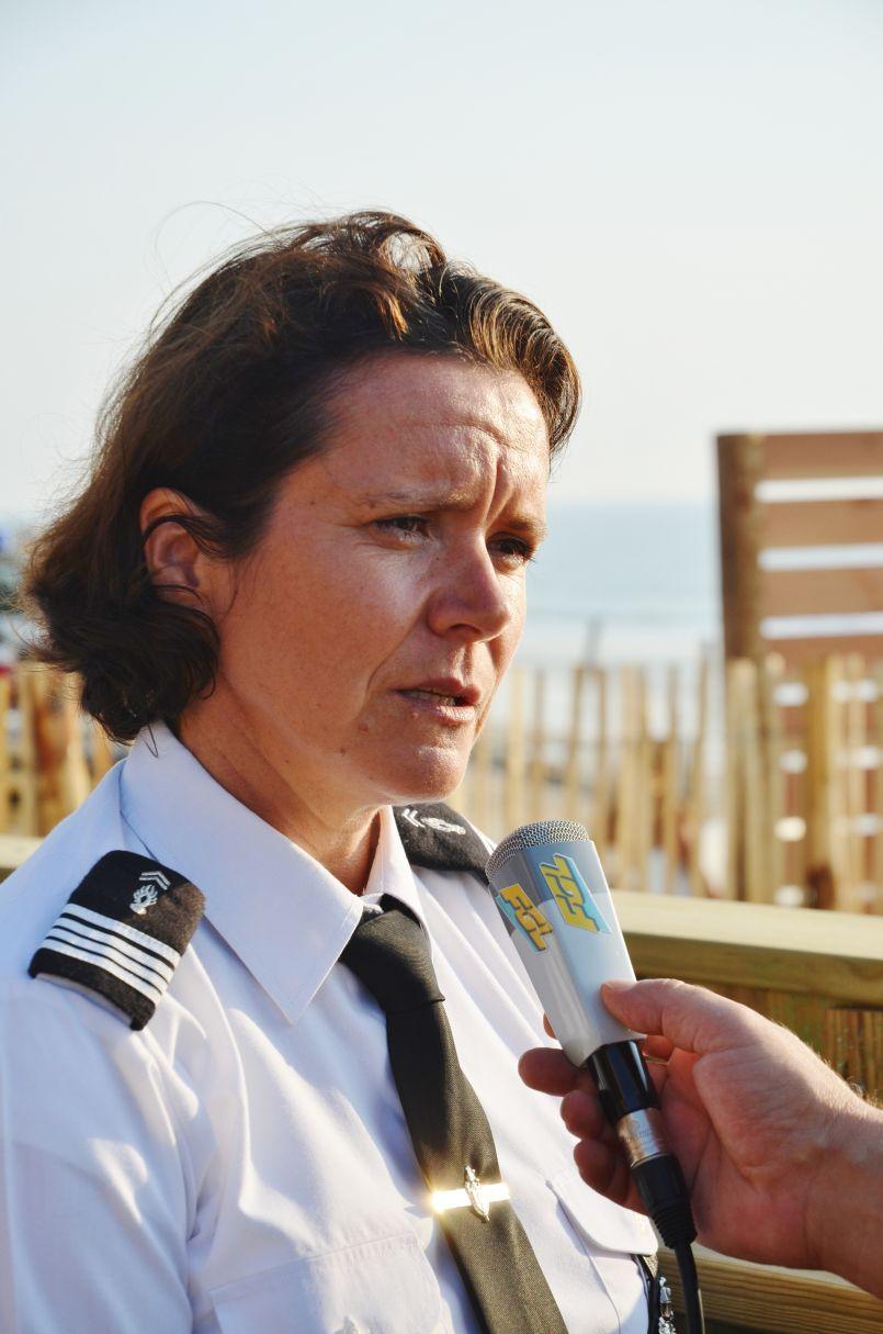 Saison estivale 2018 à Biscarrosse plage : les propos d'Alain Dudon et de Valérie Le Naour