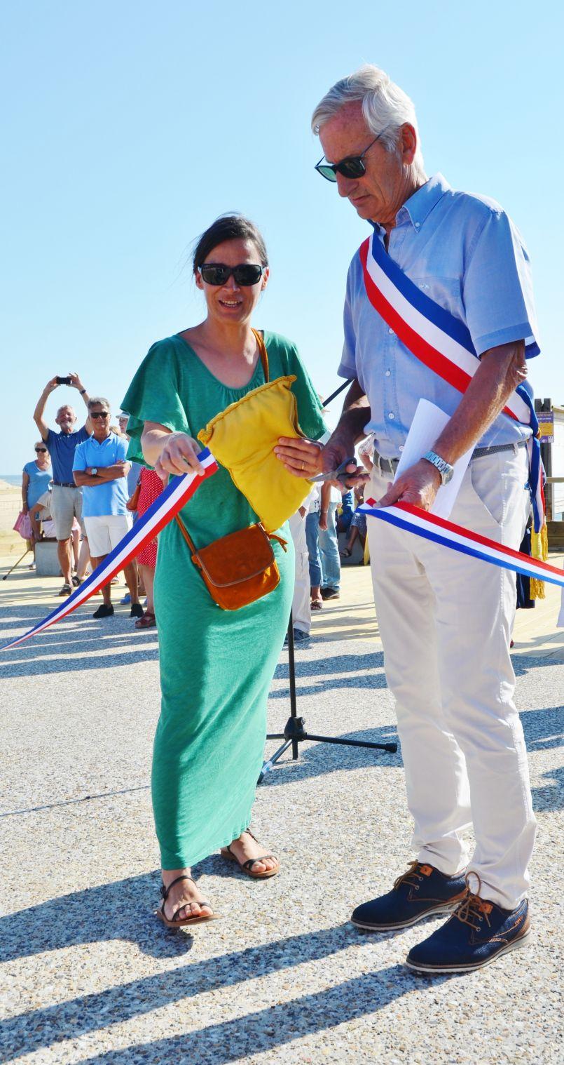 Mimizan a réaménagé sa 'Corniche', désormais 'Promenade de l'Océan'
