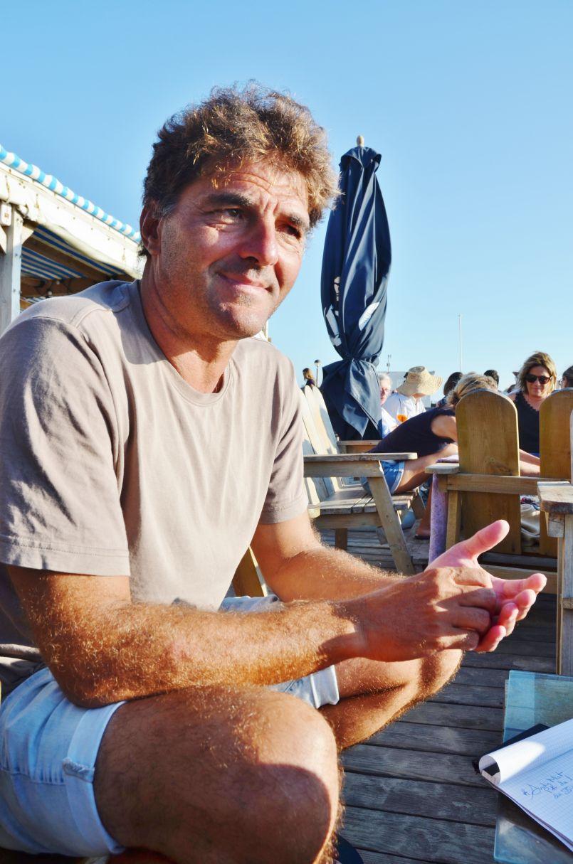 Andy Miot : 'Je suis préparé, hélas, à voir un jour l'érosion défigurer le trait de côte de Bisca'