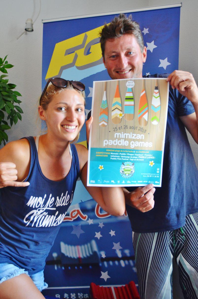 'Mimizan Paddle Games' 4ème...avec les meilleurs ces 25 et 26 août à Mimizan et Aureilhan