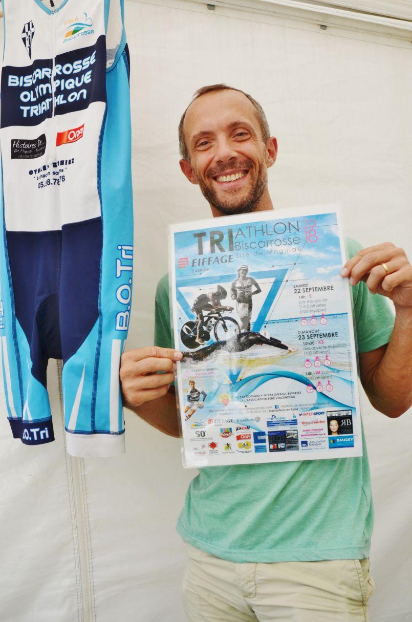 Triathlon de Biscarrosse ces 22 et 23 septembre et résultats landais de votre dernier week-end