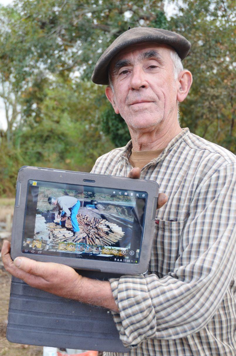 Les Gascons de Biscarrosse ont expérimenté un four à goudron à Narp. 700 ans après...