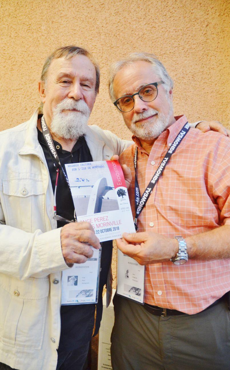 Ange Perez et Denis Morinville