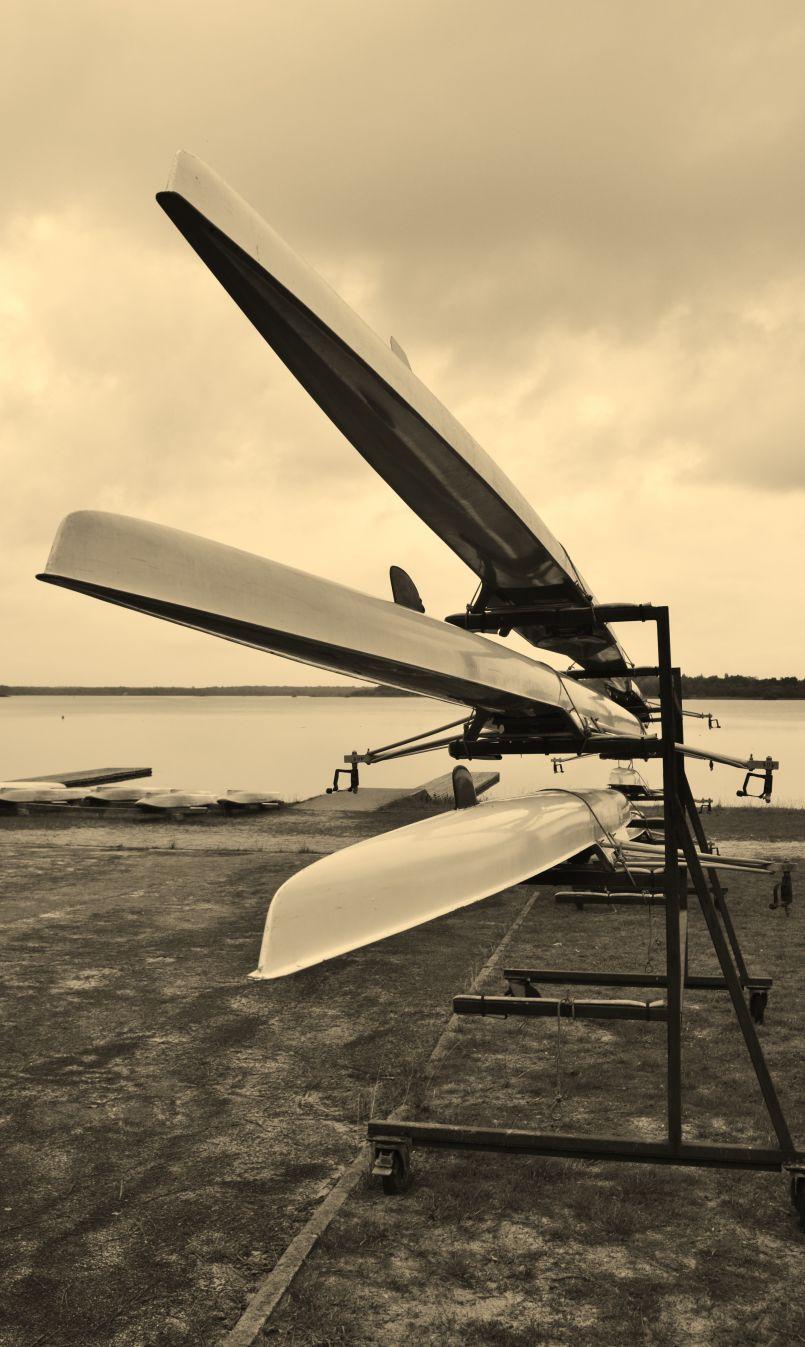 Les Dall Acqua dans les Landes : la culture de la 'gagne' aviron, Cercle Nautique de Mimizan