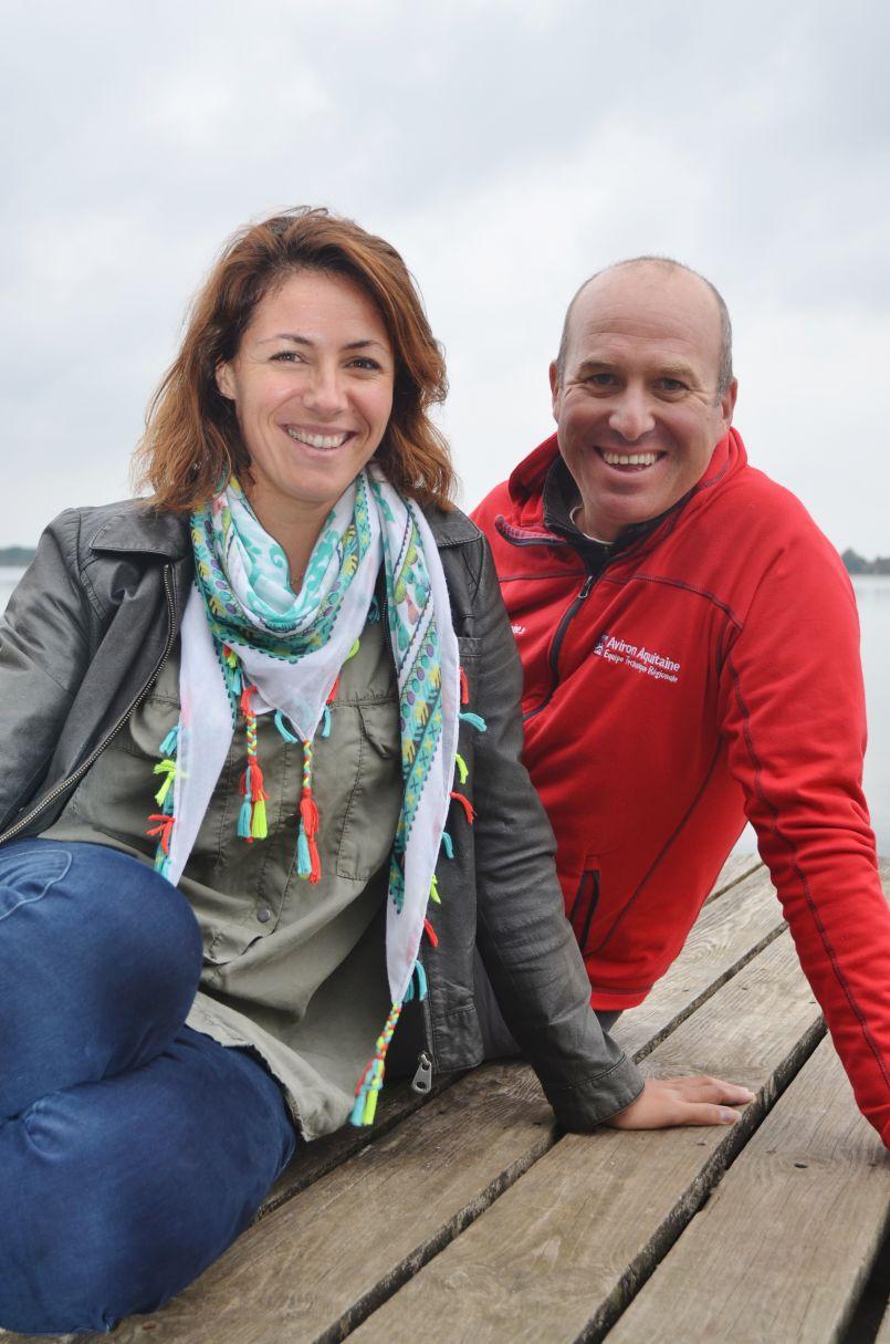 Audrey et Henri Dall Acqua : les âmes jumelles gagnantes du Cercle nautique de Mimizan