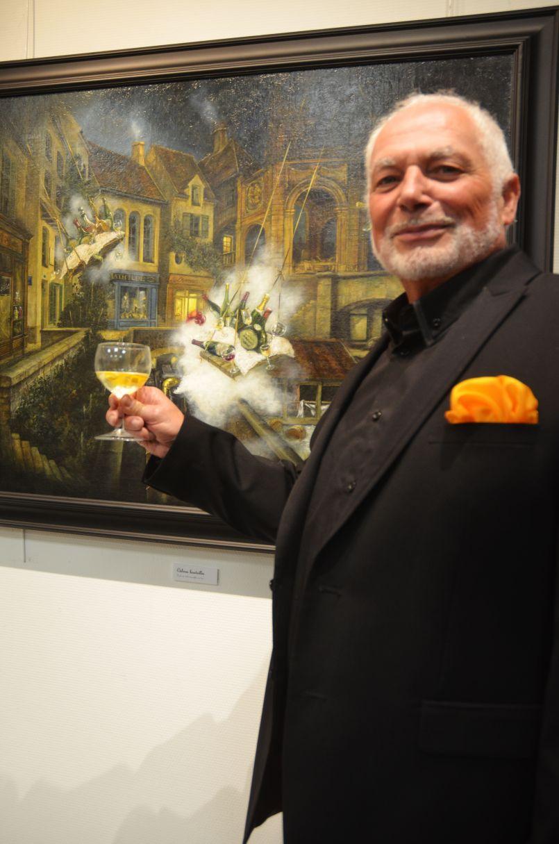 Marc Halingre, Galerie de l'Orme à Biscarrosse. Voyage d'un peintre au pays des songes