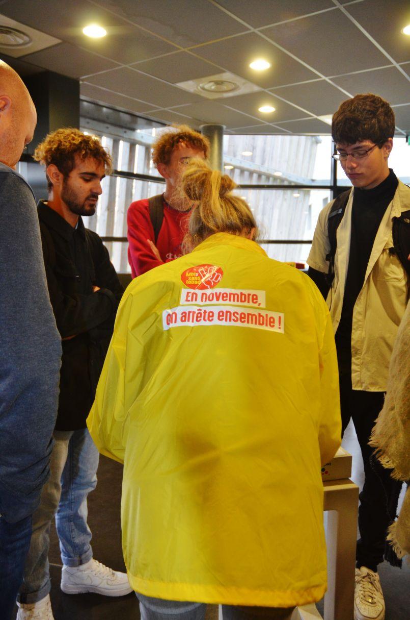 Pour combattre les addictions, avec 'La Source' et la jeunesse biscarrossaise samedi dernier