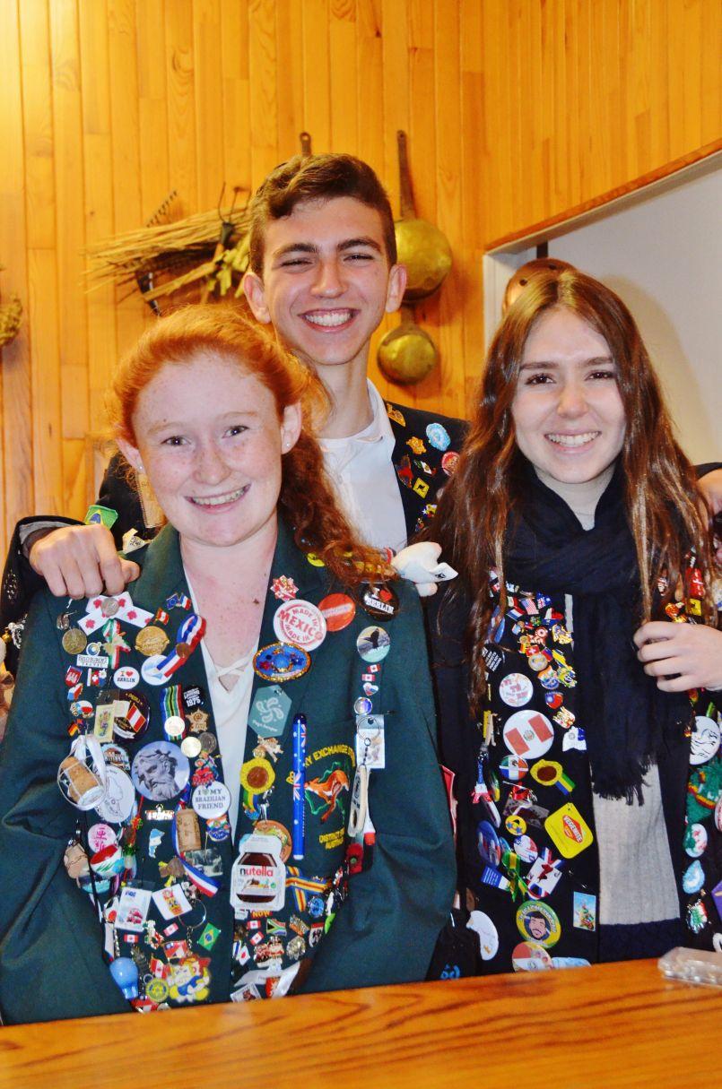 Nouvelle an en France, dans les Landes, pour 3 'students' Péruvien, Brésilien et Australien