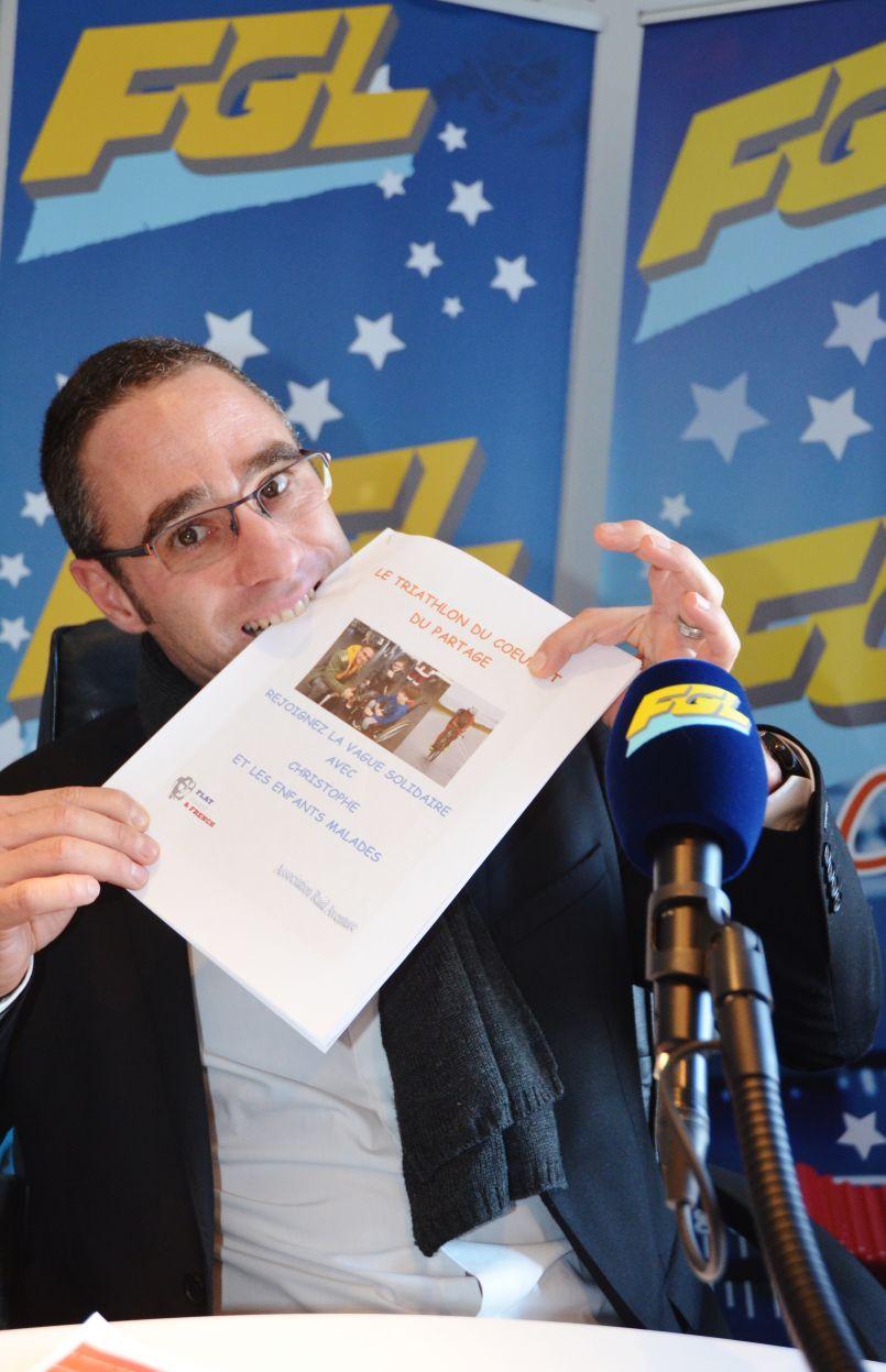 Ironman du partage caritatif : l'incroyable défi du Mimizannais Christophe Bironien
