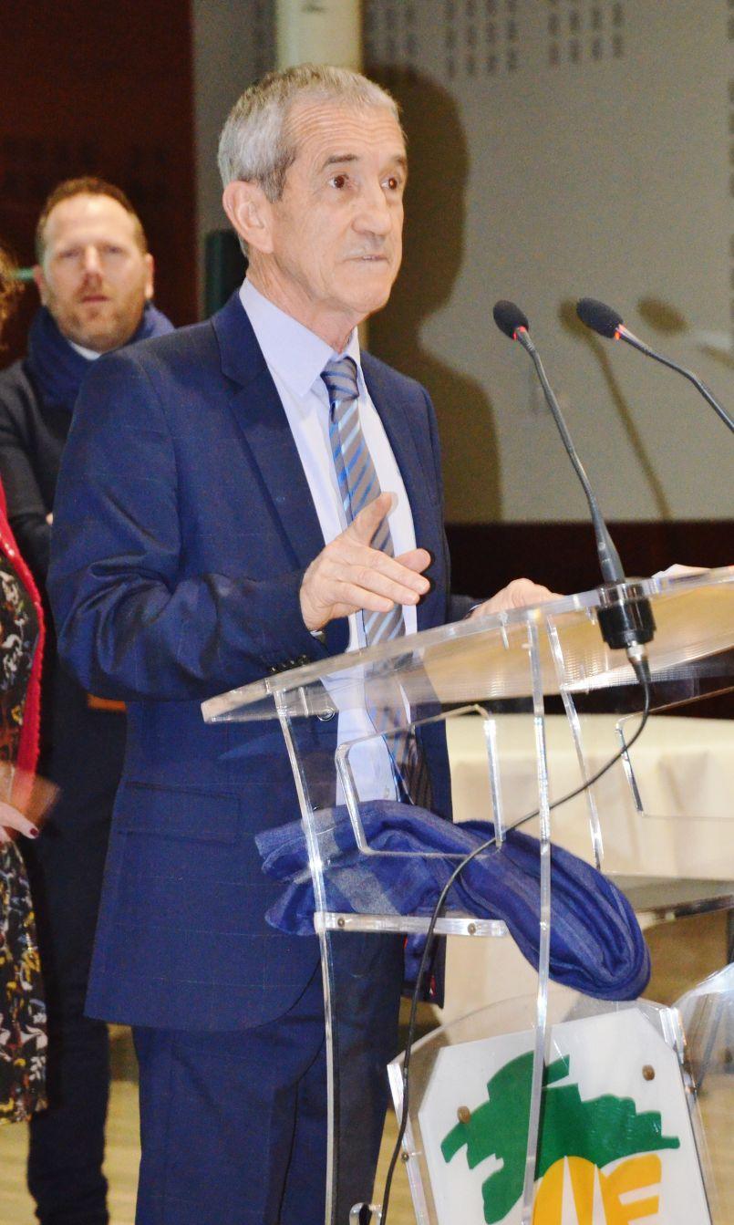 Voeux Parentissois : 2019 année des arènes Roland Portalier couvertes et rénovées