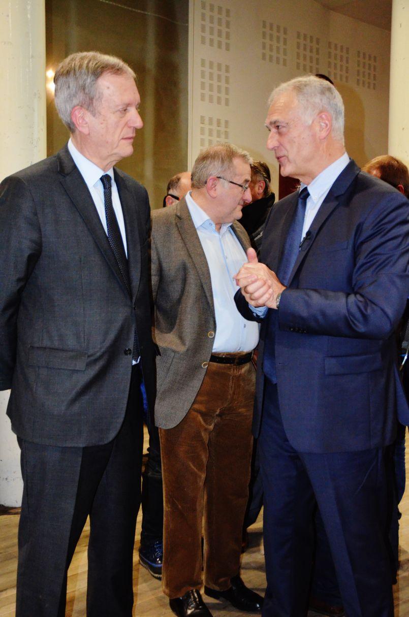 Le nouveau préfet des Landes, Frédéric Veaux, a rencontré les élus du Born