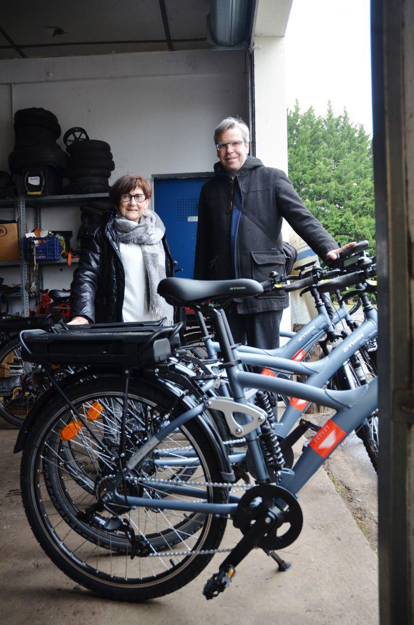 Chemins d'Insertion des Grands Lacs/Vermilion : des vélos électriques pour ne pas tomber