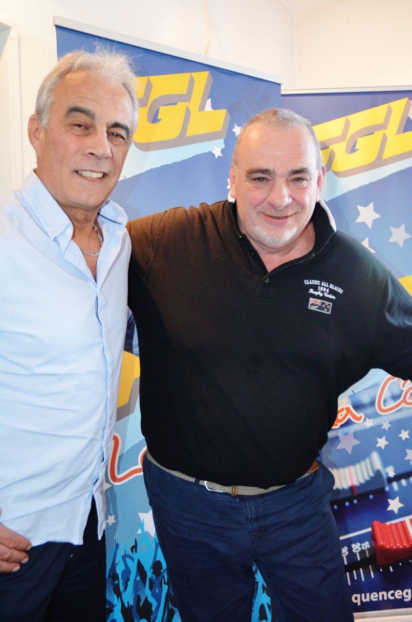 Pour parler 'Tournoi des 6 nations de rugby', FGL réunit dans ses studios son ancien duo gagnant...