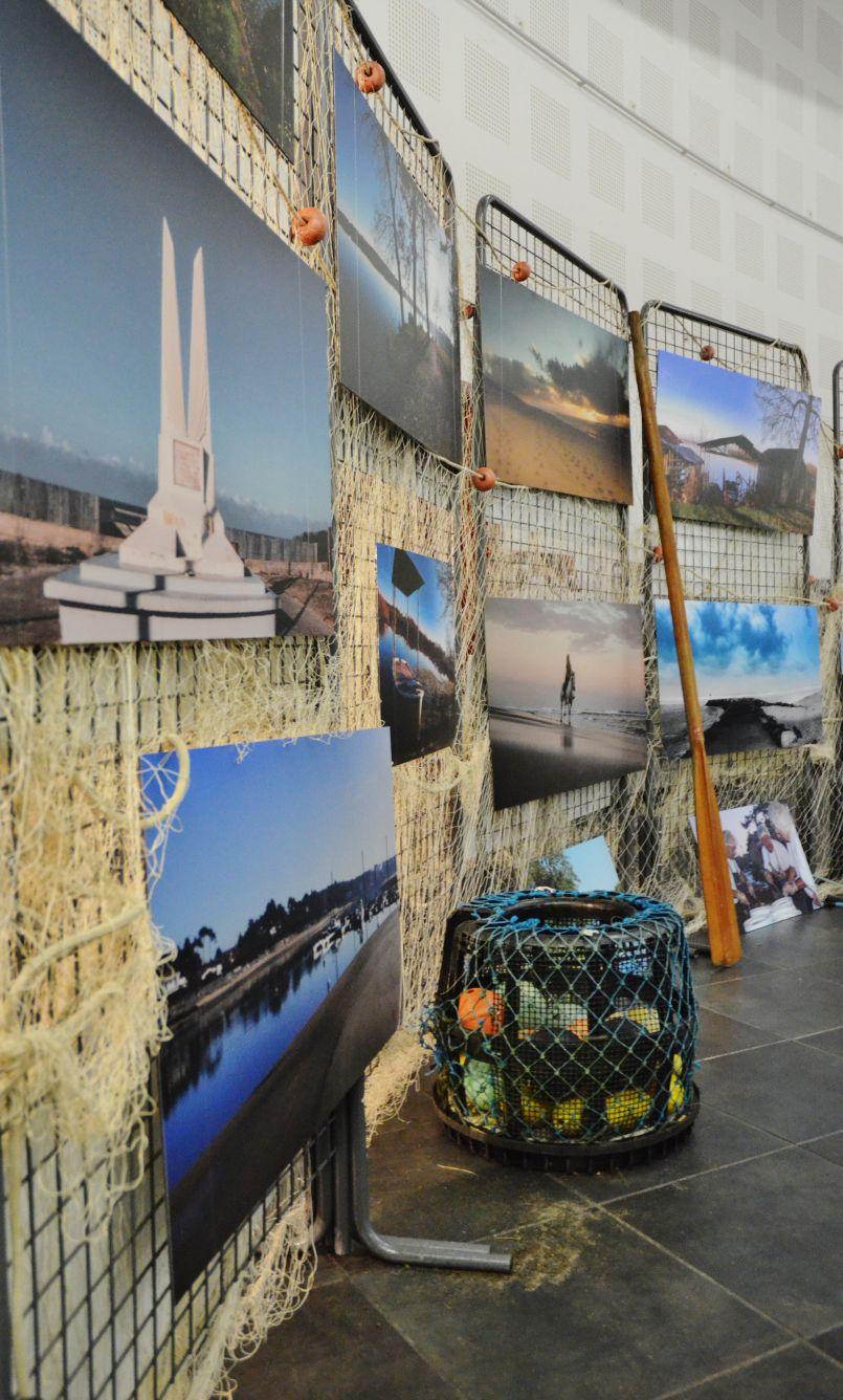 L'exposition d'Osa-K à Mimizan a déjà réuni 300 personnes lors de son vernissage. Original.