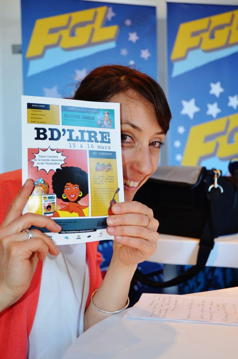 Et voici de retour BD'Lire à Biscarrosse ces 15 et 16 mars. 'Troisième' par la Médiathèque