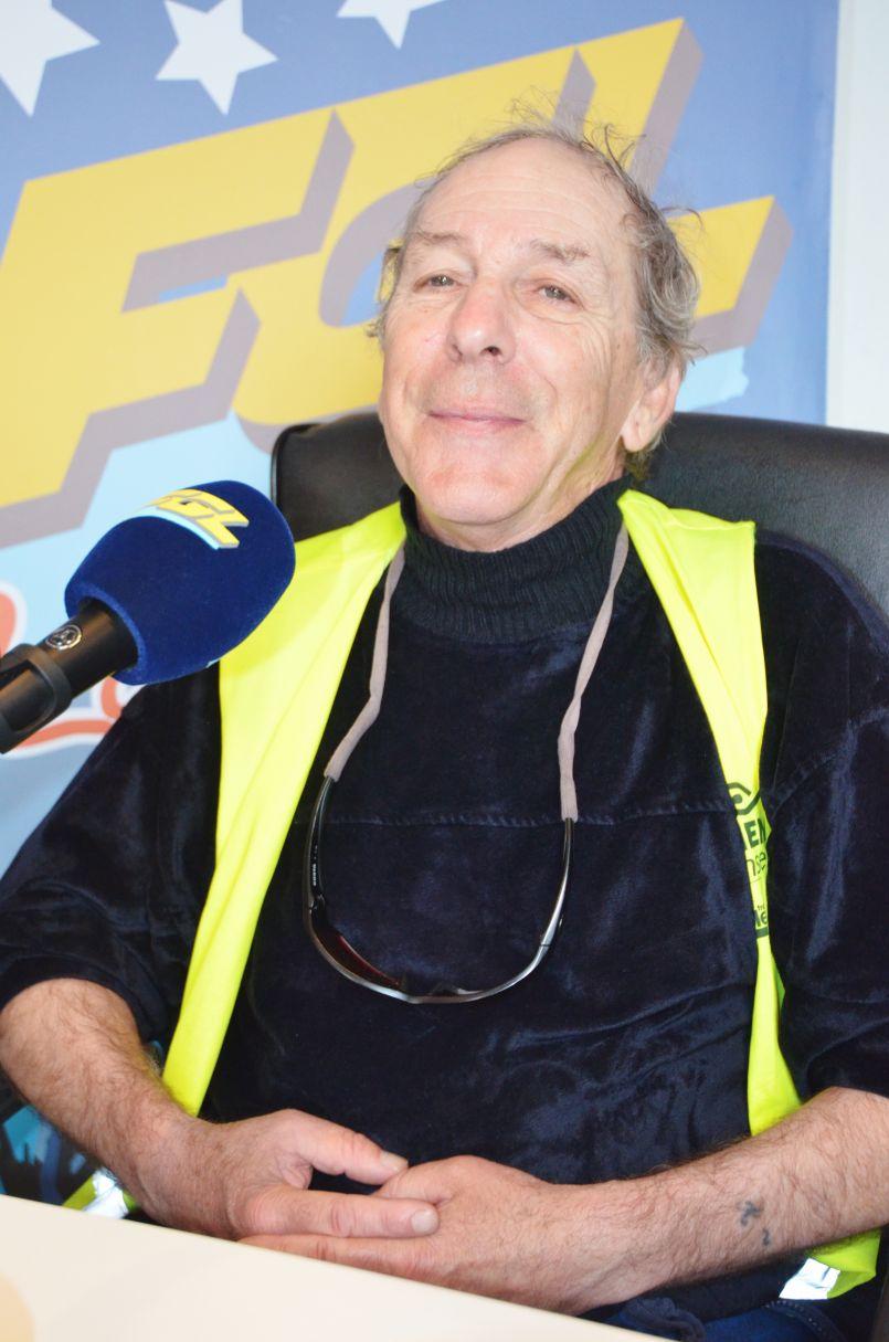 Antoine Garrigues ex-marathonien : 'Il arrive chez vous' pour vous parler de son handicap visuel