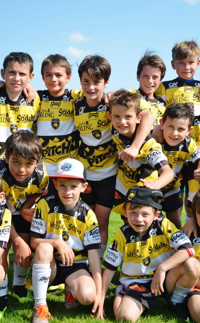 La Rochelle remporte le 28ème Tournoi des jeunes rugbymen de Biscarrosse