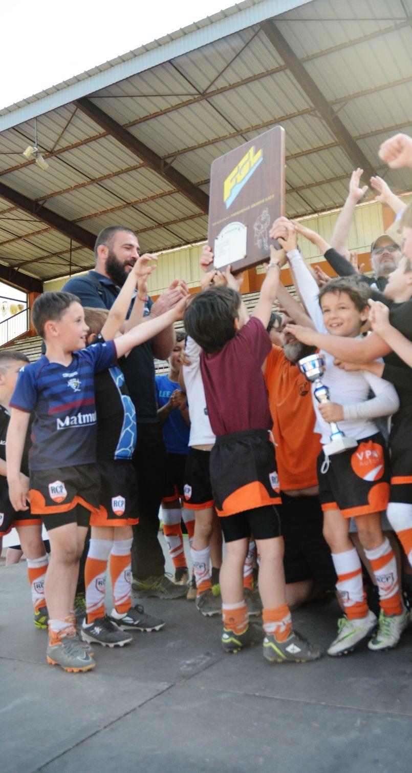 A Biscarrosse le rugby amateur, chez les plus jeunes, prend toutes ses lettres de noblesse