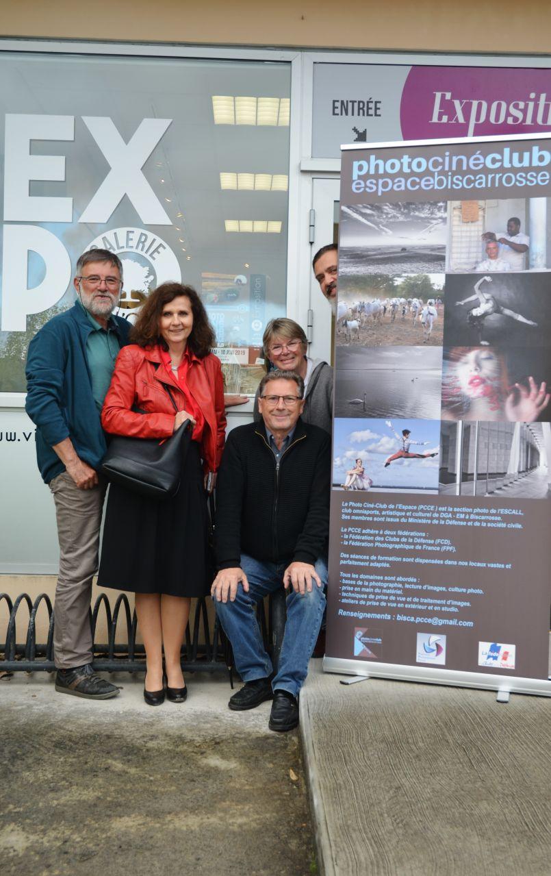 'Y a bien photo !' Galerie de l'Orme de Biscarrosse avec le Ciné Photo Club de l'Espace...
