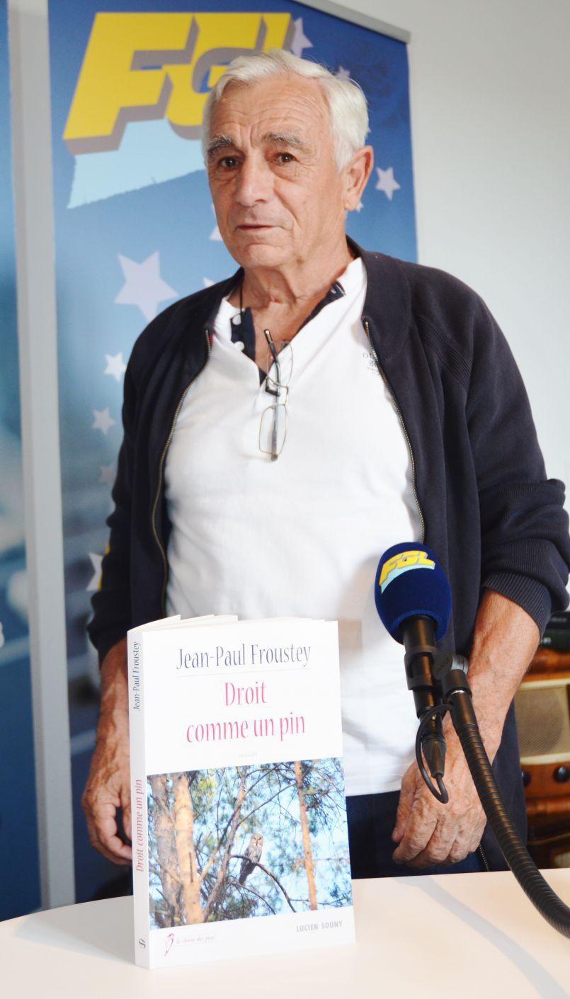 'Droit comme un pin' : Jean-Paul Froustey (de Bias) signe son dixième roman ancré dans son terroir...