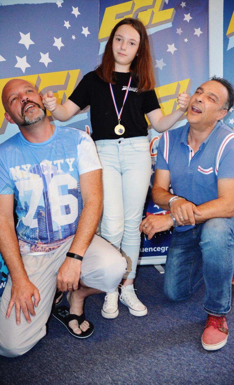 Vacances pour Emma Lauret : championne nationale landaise de Savate Boxe Française...