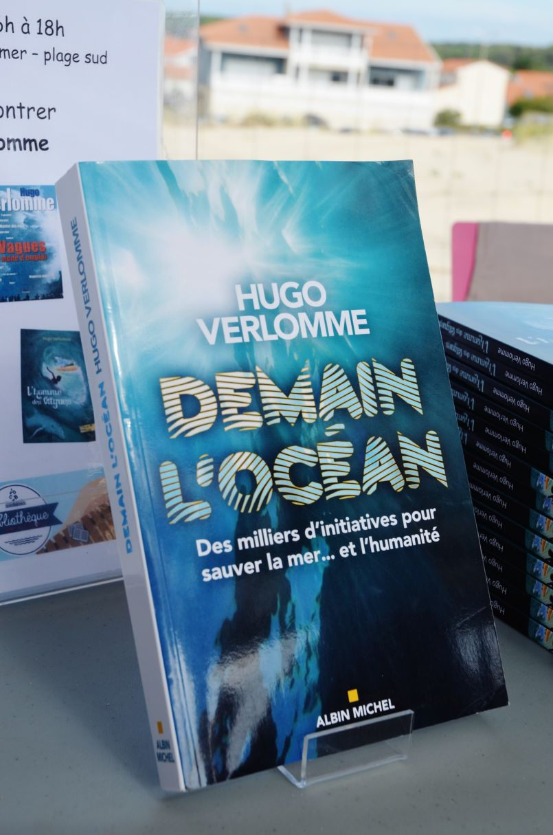 Rencontre avec Hugo Verlomme et 'Girondins Tour' à Biscarrosse-Plage
