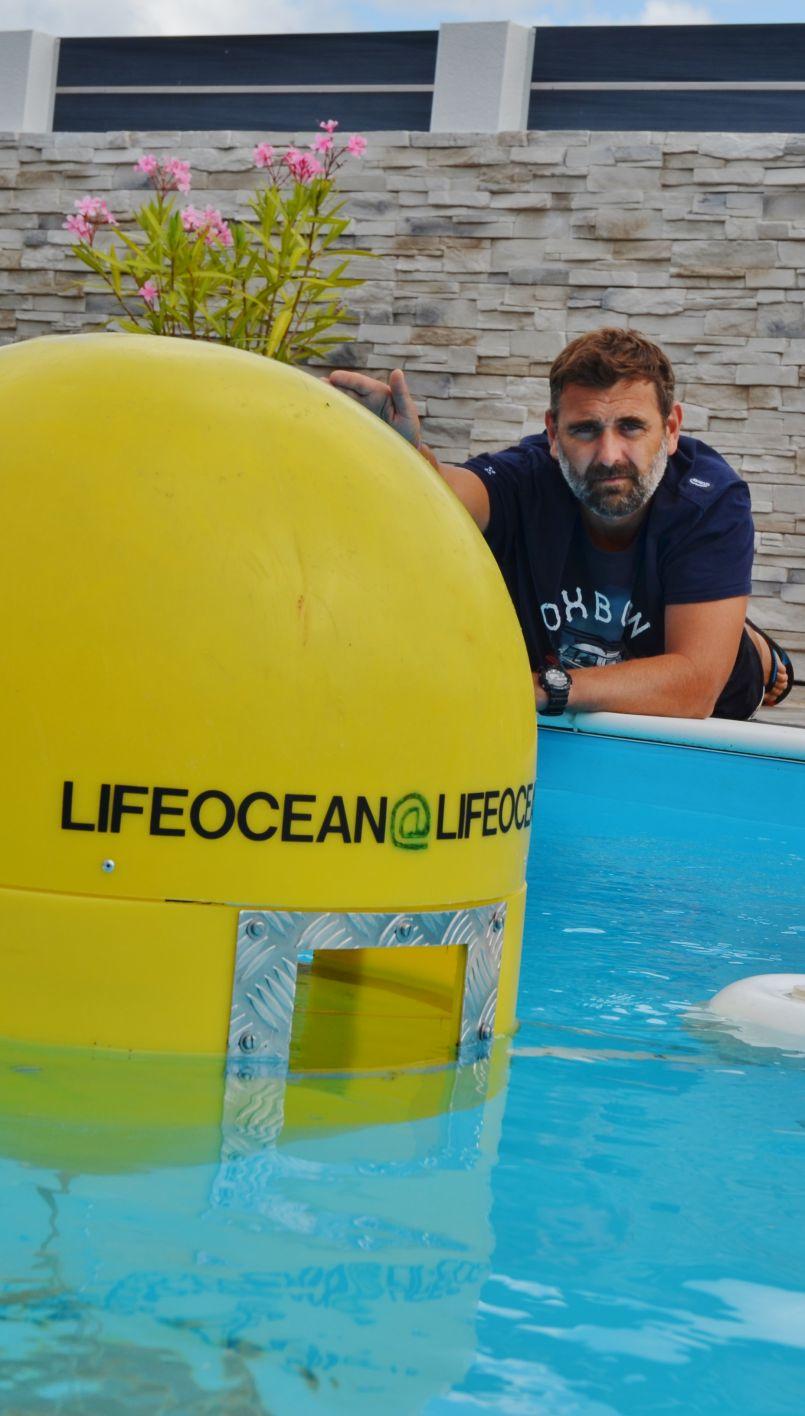 Biscarrosse : avec leur projet 'Life Océan', les frères Iung entendent nettoyer notre océan et les espaces portuaires particulièrement...