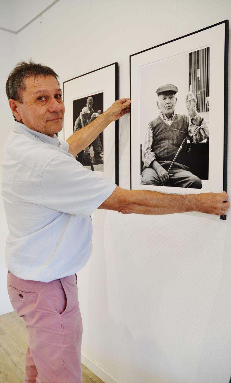 Galerie de l'Orme de Biscarrosse, jusqu'au 15 septembre, c'est Serge Fargeot qui régale...