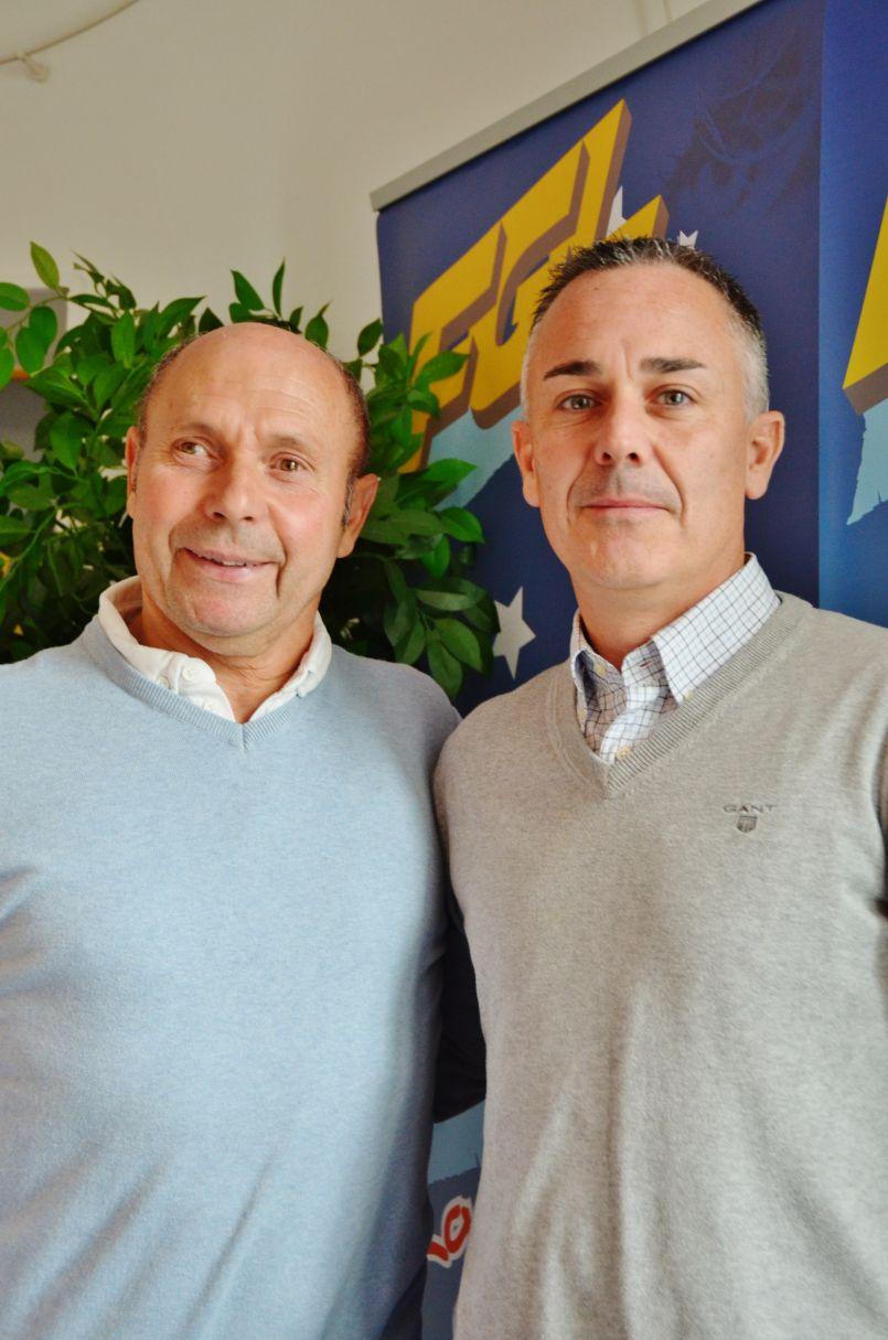 Le FC Born de Mimizan (avec son président Wilfried Bernard) était l'invité de la rédaction d'FGL