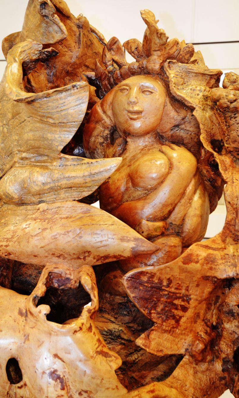Sculptures à Biscarrosse : Zig telle qu'en elle même, invitée d'honneur de la Galerie de l'Orme.