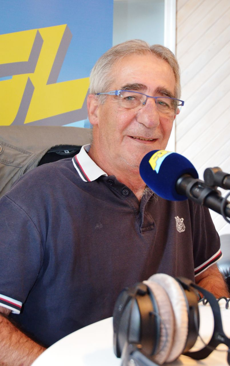 Bilan de l'année de l'ARV avec Gérard Herran et Football avec le président de l'AS Espérance d'Oeyreluy, Jean-Pierre Fernier