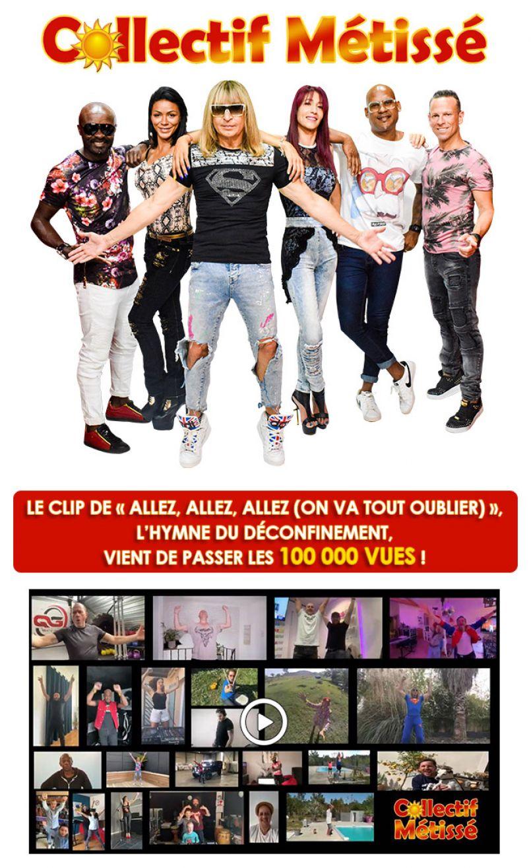 L'hymne du déconfinement est signé Collectif Métissé. Interview de Claude Soma Riba sur FGL.