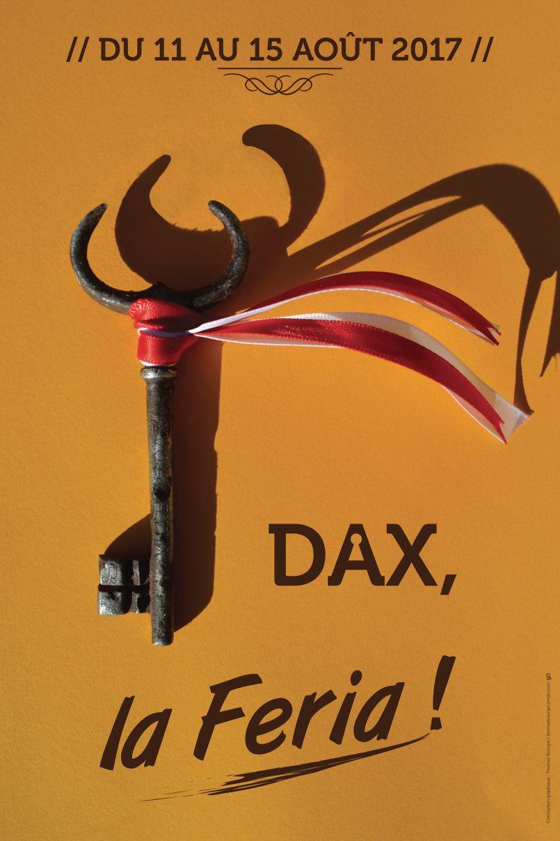 Le Rouge et blanc sont obligatoires, à Parentis en Born...et bientôt Dax du 11 au 15 août