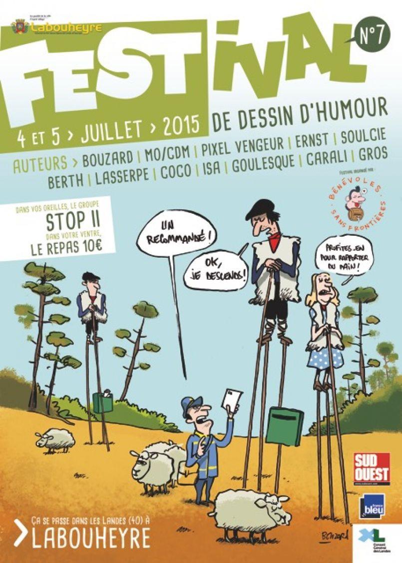 Sun Under Rock Festival, Cap é tot et Festival de dessin d'humour...