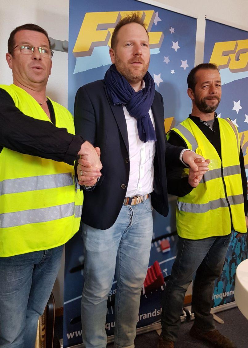 L'échange : direct dans les studios d'FGL avec les 'Gilets jaunes' et le député Fabien Lainé
