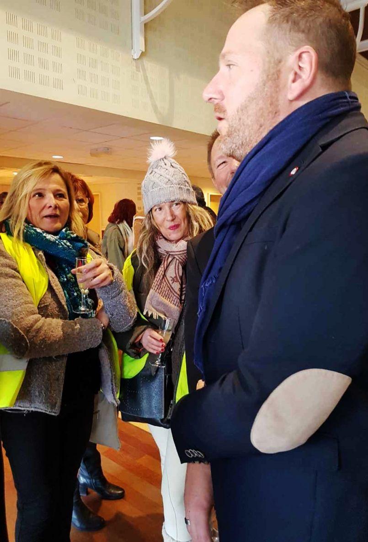 Désaccord entre les Gilets jaunes de Biscarrosse et le député landais Fabien Lainé...