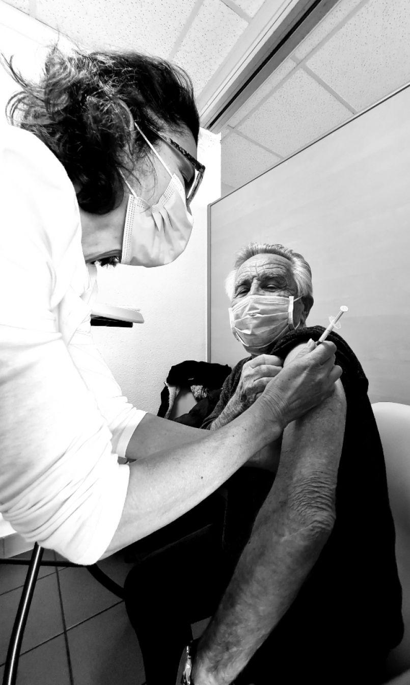 Premier jour sans faille, ce 2 février 2021, pour le Centre de vaccination de Biscarrosse